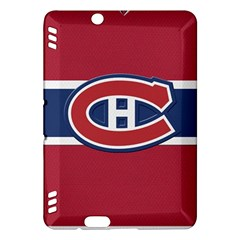 Montreal Canadiens Jersey Style  Kindle Fire HDX Hardshell Case