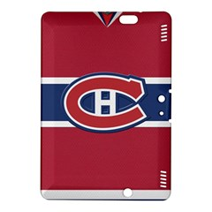 Montreal Canadiens Jersey Style  Kindle Fire Hdx 8 9  Hardshell Case