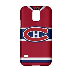 Montreal Canadiens Jersey Style  Samsung Galaxy S5 Hardshell Case