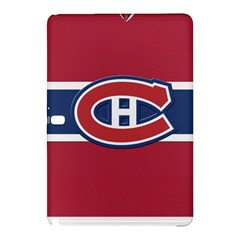 Montreal Canadiens Jersey Style  Samsung Galaxy Tab Pro 10 1 Hardshell Case