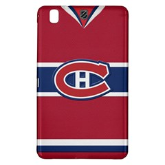 Montreal Canadiens Jersey Style  Samsung Galaxy Tab Pro 8 4 Hardshell Case