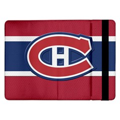 Montreal Canadiens Jersey Style  Samsung Galaxy Tab Pro 12 2  Flip Case