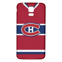 Montreal Canadiens Jersey Style  Samsung Galaxy S5 Back Case (white)