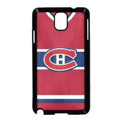 Montreal Canadiens Jersey Style  Samsung Galaxy Note 3 Neo Hardshell Case (black)