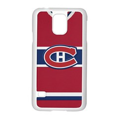 Montreal Canadiens Jersey Style  Samsung Galaxy S5 Case (White)