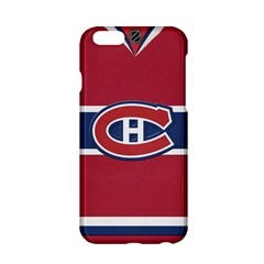 Montreal Canadiens Jersey Style  Apple Iphone 6 Hardshell Case