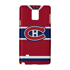 Montreal Canadiens Jersey Style  Samsung Galaxy Note 4 Hardshell Case