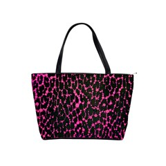 Hot Pink Leopard Print  Large Shoulder Bag