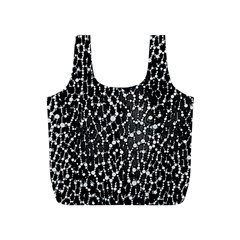Black&white Leopard Print  Reusable Bag (s)