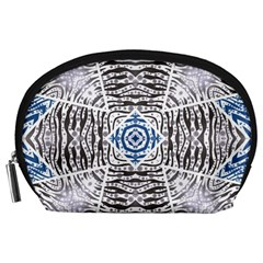 Animal Print Pattern  Accessory Pouch (Large)
