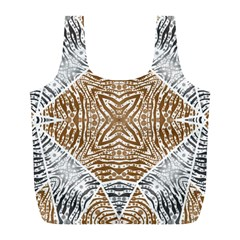 Animal Print Pattern  Reusable Bag (L)
