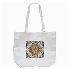 Animal Print Pattern  Tote Bag (White)