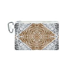 Animal Print Pattern  Canvas Cosmetic Bag (Small)