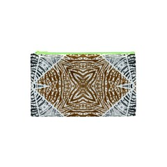 Animal Print Pattern  Cosmetic Bag (XS)