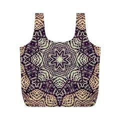 Crazy Beautiful Abstract  Reusable Bag (M)