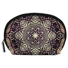 Crazy Beautiful Abstract  Accessory Pouch (Large)