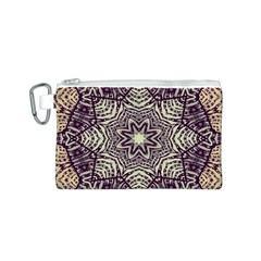 Crazy Beautiful Abstract  Canvas Cosmetic Bag (Small)