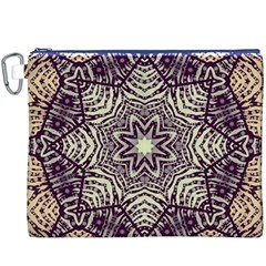 Crazy Beautiful Abstract  Canvas Cosmetic Bag (XXXL)