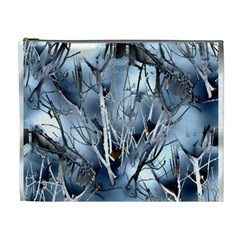 Abstract Of Frozen Bush Cosmetic Bag (xl)