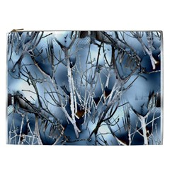 Abstract Of Frozen Bush Cosmetic Bag (xxl)