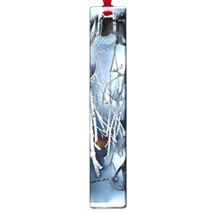 Abstract Of Frozen Bush Large Bookmark