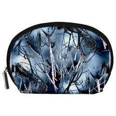Abstract Of Frozen Bush Accessory Pouch (Large)
