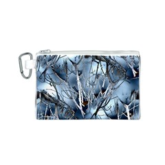 Abstract Of Frozen Bush Canvas Cosmetic Bag (Small)