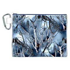 Abstract Of Frozen Bush Canvas Cosmetic Bag (XXL)