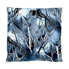 Abstract Of Frozen Bush Cushion Case (two Sided)