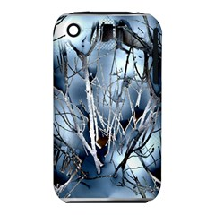 Abstract Of Frozen Bush Apple iPhone 3G/3GS Hardshell Case (PC+Silicone)