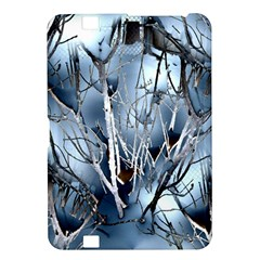 Abstract Of Frozen Bush Kindle Fire Hd 8 9  Hardshell Case