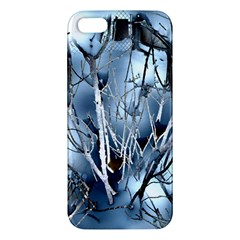 Abstract Of Frozen Bush Iphone 5s Premium Hardshell Case