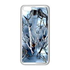 Abstract Of Frozen Bush Apple iPhone 5C Seamless Case (White)