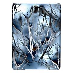 Abstract Of Frozen Bush Apple iPad Air Hardshell Case