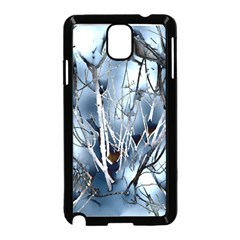 Abstract Of Frozen Bush Samsung Galaxy Note 3 Neo Hardshell Case (Black)