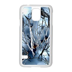 Abstract Of Frozen Bush Samsung Galaxy S5 Case (White)
