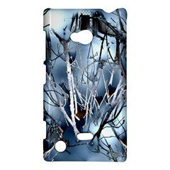 Abstract Of Frozen Bush Nokia Lumia 720 Hardshell Case