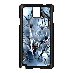 Abstract Of Frozen Bush Samsung Galaxy Note 3 N9005 Case (Black)