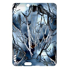 Abstract Of Frozen Bush Kindle Fire HDX Hardshell Case