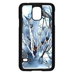 Abstract Of Frozen Bush Samsung Galaxy S5 Case (Black)