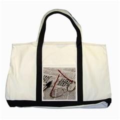 Crossword Genius Two Toned Tote Bag
