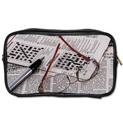 Crossword Genius Travel Toiletry Bag (Two Sides)