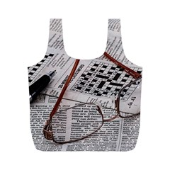 Crossword Genius Reusable Bag (M)