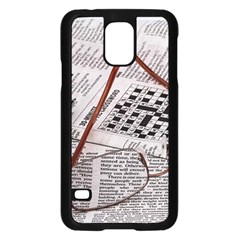 Crossword Genius Samsung Galaxy S5 Case (Black)