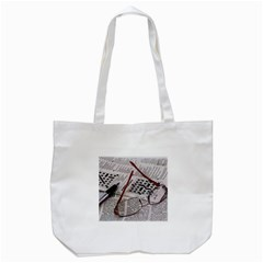 Crossword Genius Tote Bag (White)