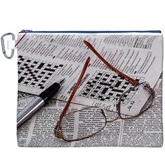 Crossword Genius Canvas Cosmetic Bag (XXXL)