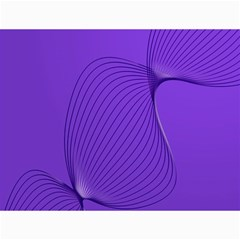 Twisted Purple Pain Signals Canvas 18  X 24  (unframed)