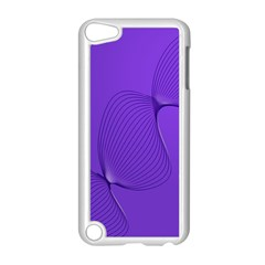 Twisted Purple Pain Signals Apple Ipod Touch 5 Case (white)
