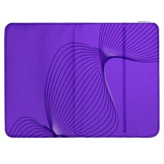 Twisted Purple Pain Signals Samsung Galaxy Tab 7  P1000 Flip Case