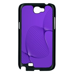 Twisted Purple Pain Signals Samsung Galaxy Note 2 Case (Black)